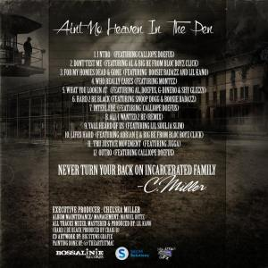 UPDATED AIN'T NO HEAVEN IN THE PEN TRACKLISTING